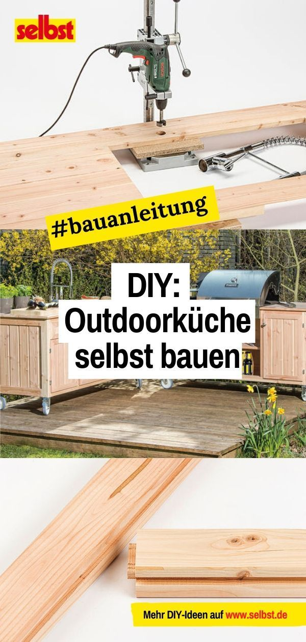 Bauplan Outdoorküche    selbst.de