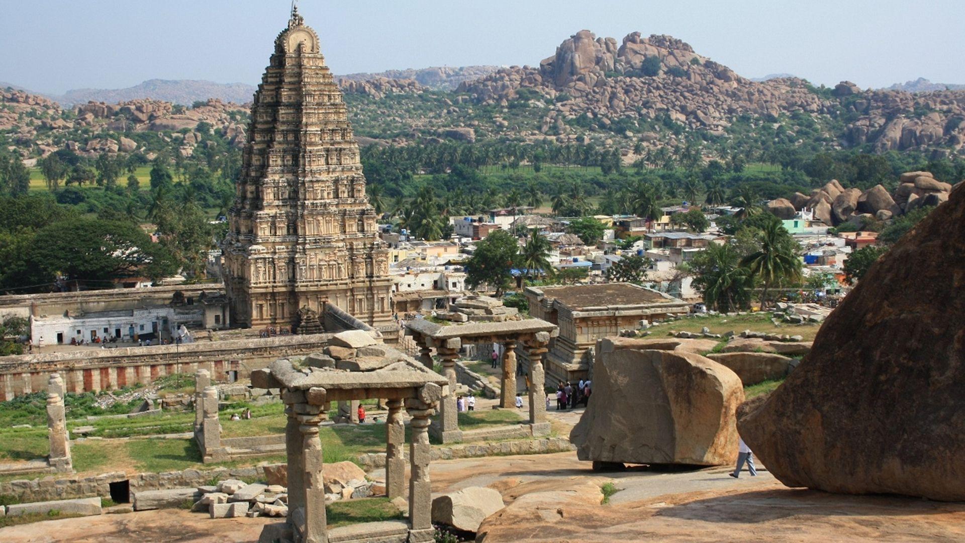 Jog Falls Hd Wallpaper Virupaksha Temple Hampi Beinbo Tourism India Mysore