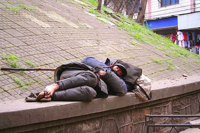 There are homeless people all around the world, let God use you to make a difference in their lives.
