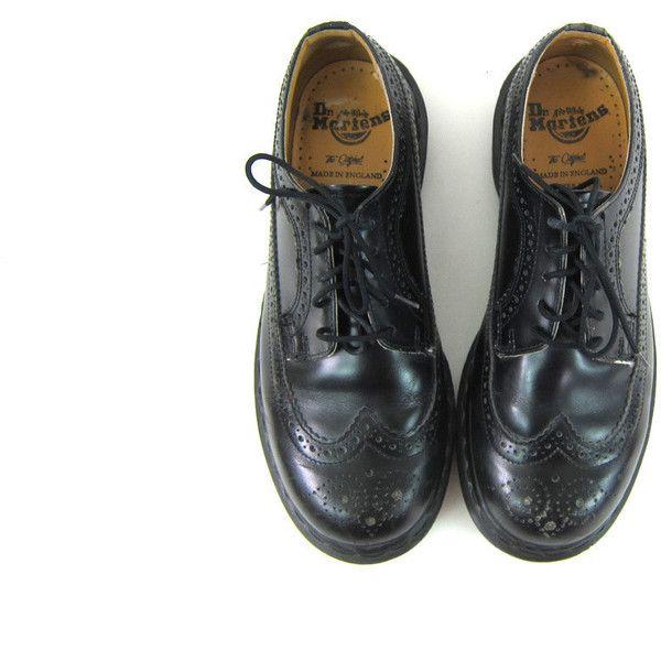 vintage black Doc Martens leather heavy