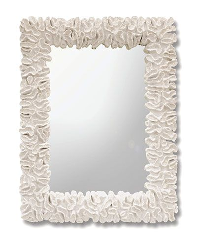The Broach Coral Mirror Mirrors Coral Home Decor Coral Mirror Beach Mirror
