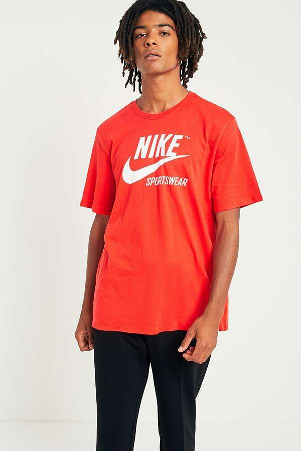 buy popular 46fdb daa72 Slide View  2  Nike Sportswear Red Rush Archive T-shirt