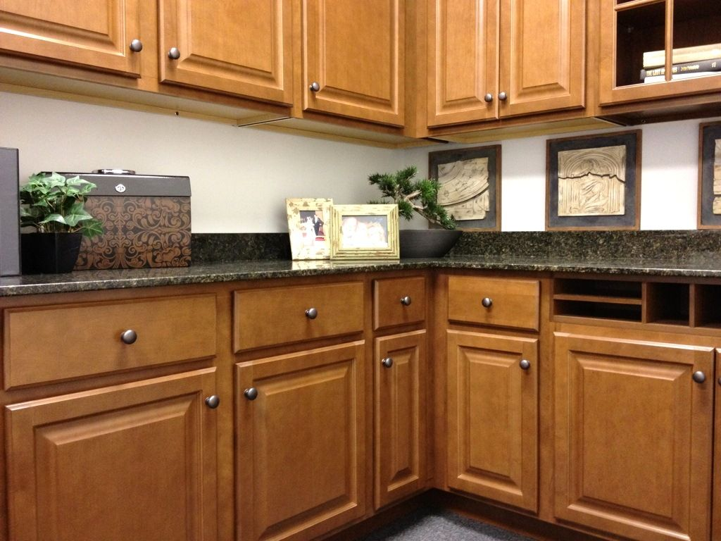 WOLF Classic Cabinets in Saginaw Chestnut | Home Projects in ...