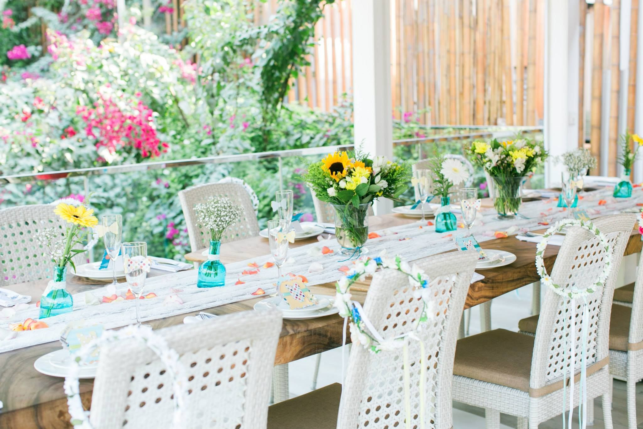 table set-up / perfect for a baby or bridal shower | ~JIVE~ Garden ...