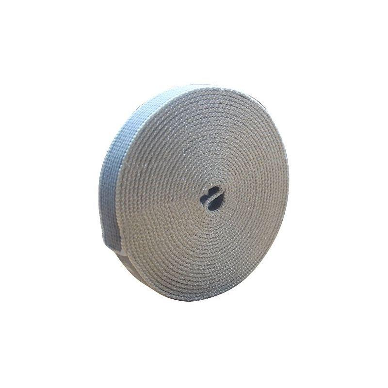 Schellenberg 10283 Sangle Pour Volets Roulants En Coton Gris Fonce