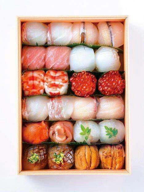 Temarizushi Japanisches Essen Japanische Gerichte Lebensmittel Essen