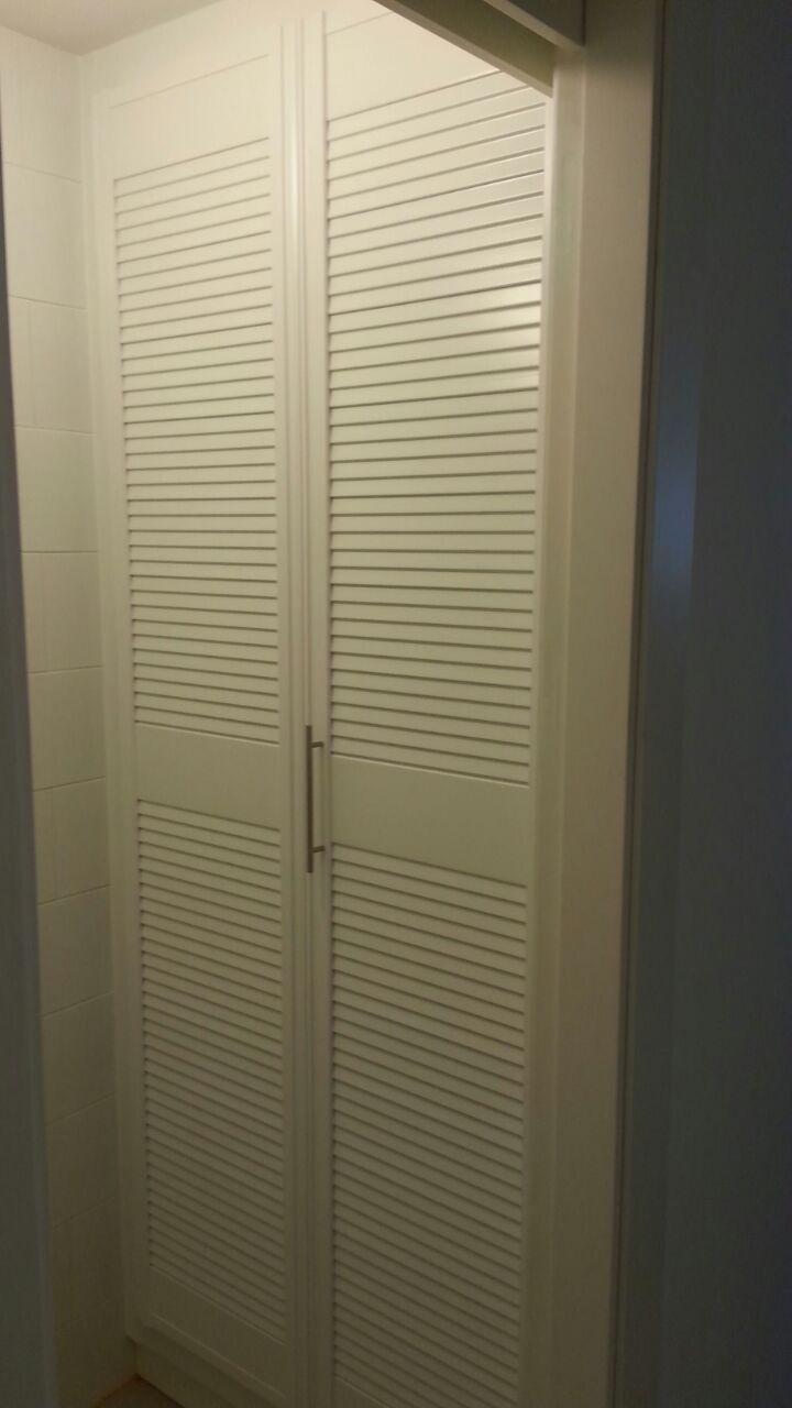 Frente de armario de puertas plegables de mallorquina - Puertas plegables armarios ...