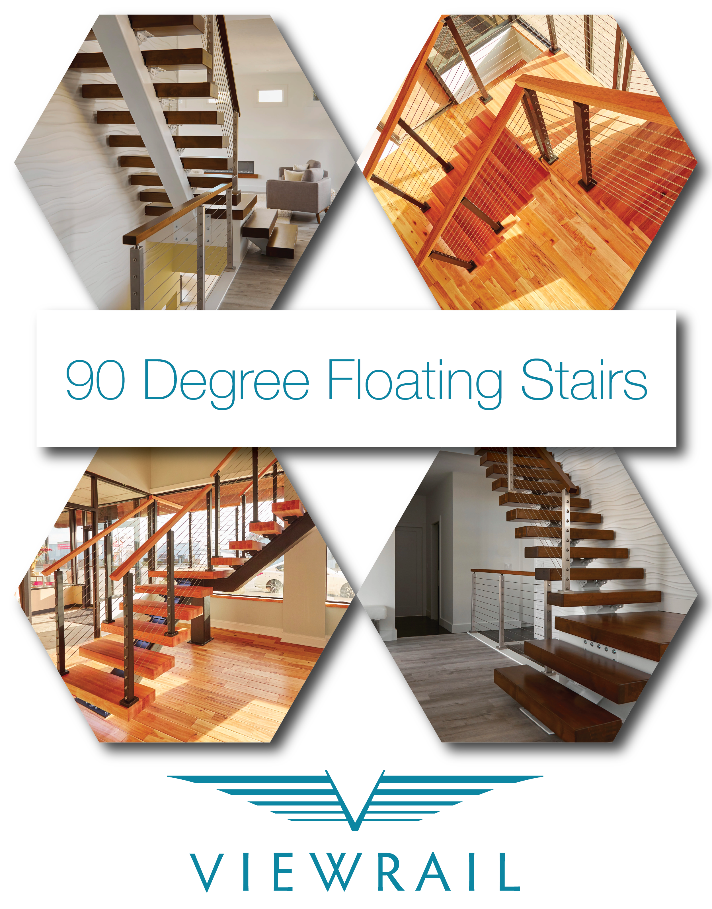 Best 90­° Prefabricated Steel Stairs Floating Stairs Stairs 640 x 480