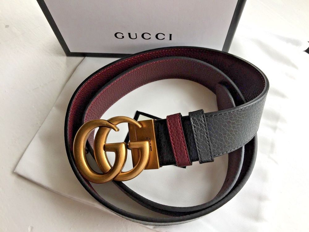 adbcfac5b663 Authentic New Gucci Double GG Reversible Belt Size 90cm 30-32 Waist   fashion  clothing  shoes  accessories  womensaccessories  belts (ebay link)