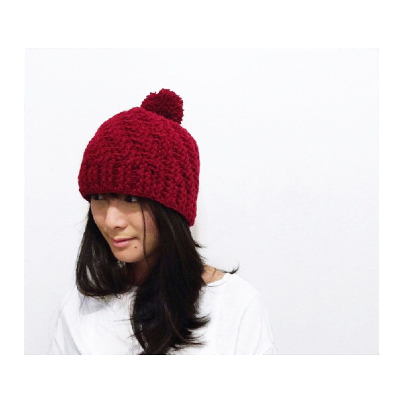 568398ece42806 In honor of the dropping temperatures (I'm wearing socks in bed tonight), our  winter hats are now listed! Guaranteed these babies will keep you warm and  ...