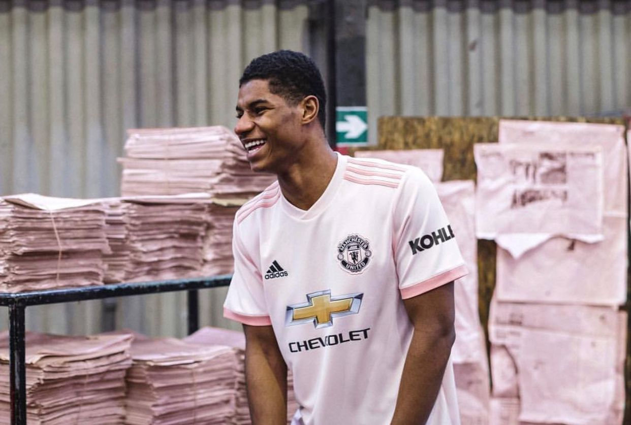 Our Manchester United Pink Jersey Make Sense Manchester United Football Club Manchester United Logo Manchester United Football