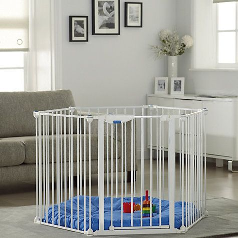Lindam Safe and Secure Playpen a great solution to keep your baby