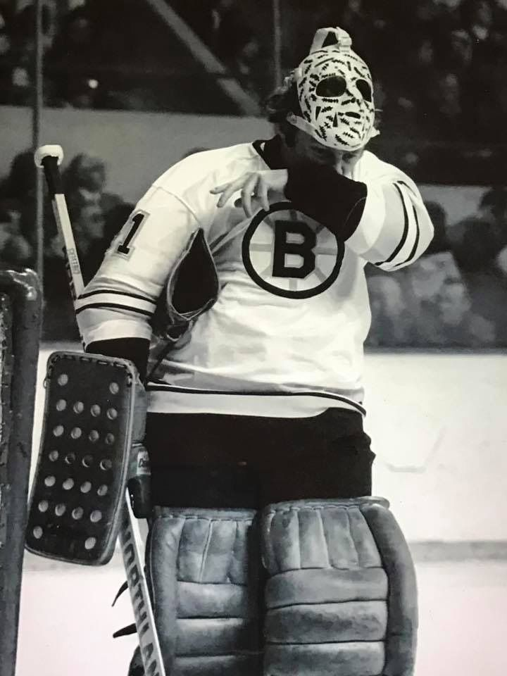 Gerry Cheevers Hockey Old School Goalie Masks Boston Bruins