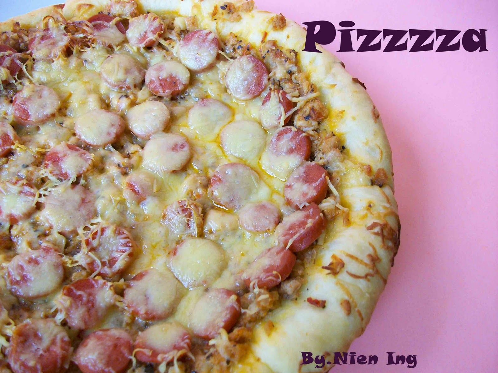 Pizzzzzzzza Akhirya Aku Bikin Pizza Juga Setelah Bertanya Sana Sini Ternyata Aku Lebih Sreg Pake Resep Roti Pizza Nya Dari Mbak Y Resep Resep Roti Pizza