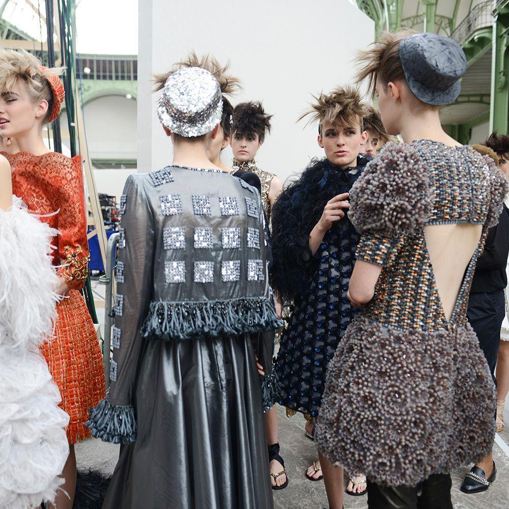 Haute Couture Backstage | Harper's Bazaar