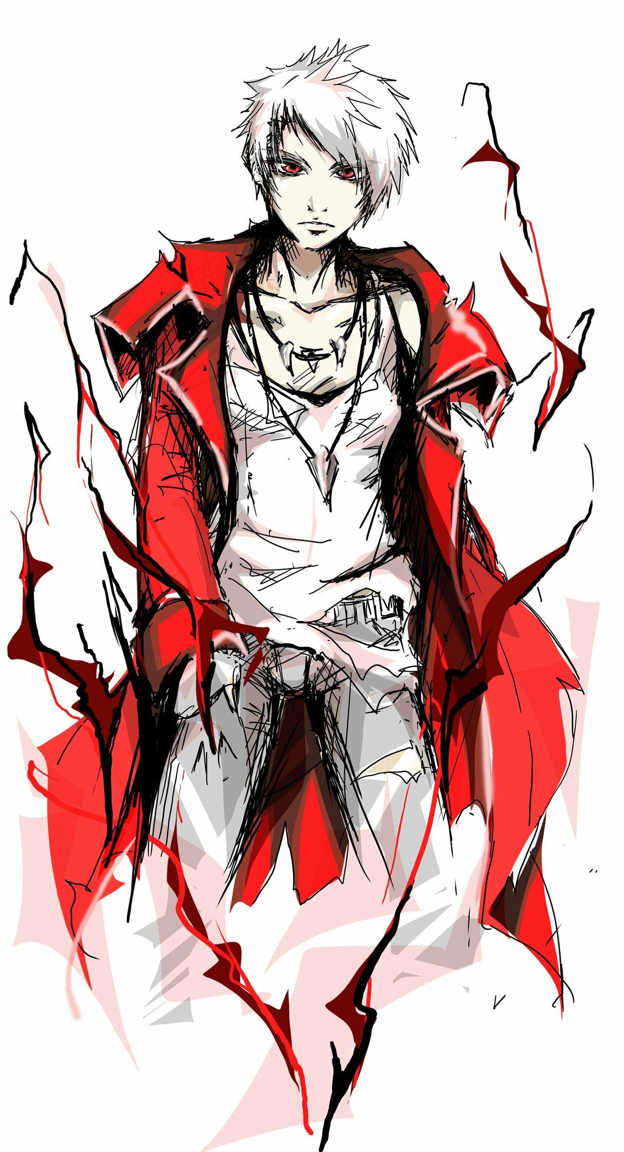 Dante versión anime Desenhos