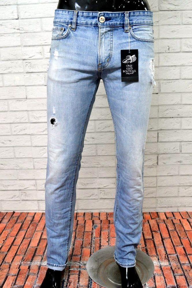 Jeans DSQUARED 2 Uomo Taglia Size 34 36 Pantalone Man Slim