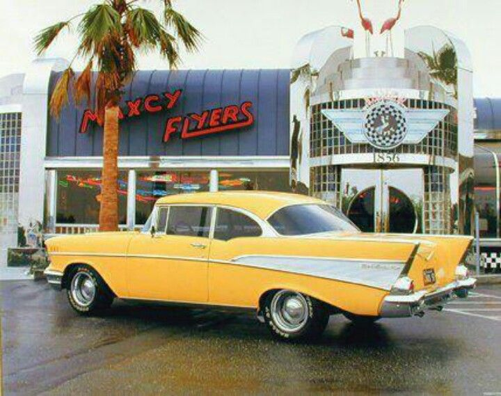 57 Chevy..Re-pin...Brought to you by #CarInsurance at #HouseofInsurance in Eugene, Oregon