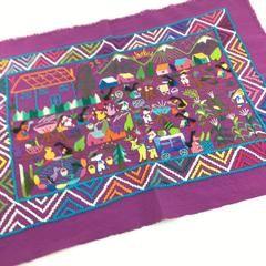 Michoacán Story Cloth Textiles