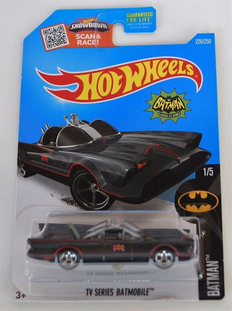 Hot Wheels Super Treasure Hunt Tv Series Batmobile Batman 2016