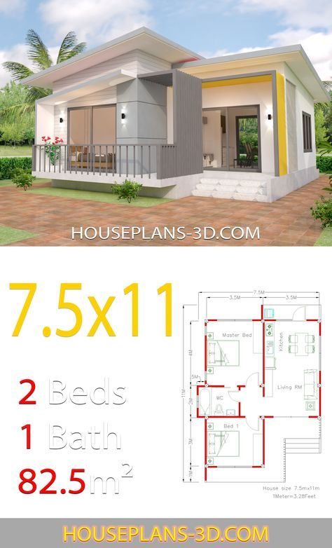 Pin By Dedy Ardi On Denah Rumah Kecil Bungalow House Plans House Plans Small House Design