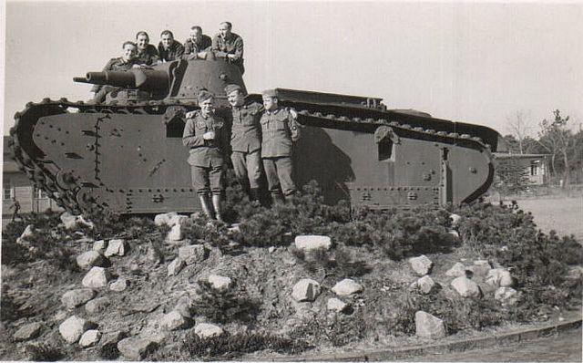 Rheinmetall Borsig Großtraktor Nr 45 Und 46 Großtraktor Ii танк война