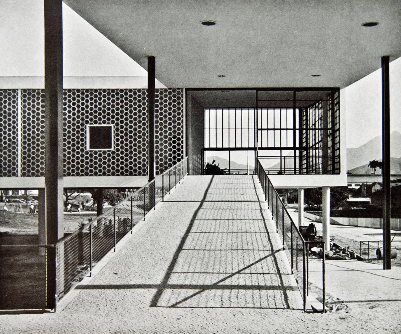 Escuela, Parte del condominio Pedregulho (1947)   Affonso Reidy