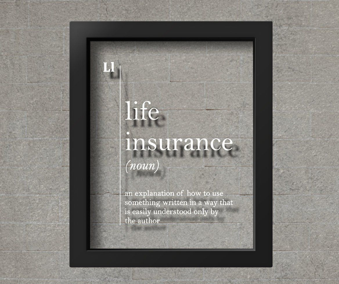 TRANSPARENT Life Insurance Definition Insurance Agent Gift