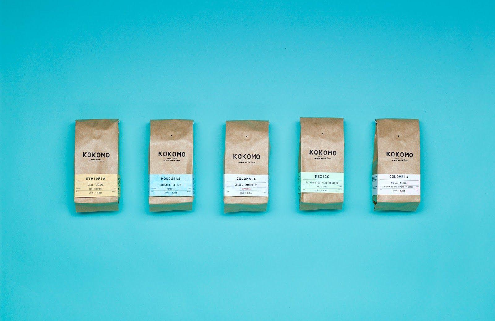 Kokomo Packaging Design Inspiration Creative Packaging Design Minimal Web Design