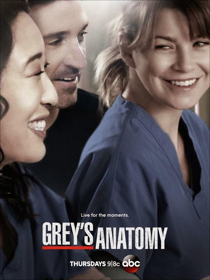 Y si anterior mente eh puesto mis pasiones no puedo olvidar la mas importante de mis pasiones que es Anatomia de Grey