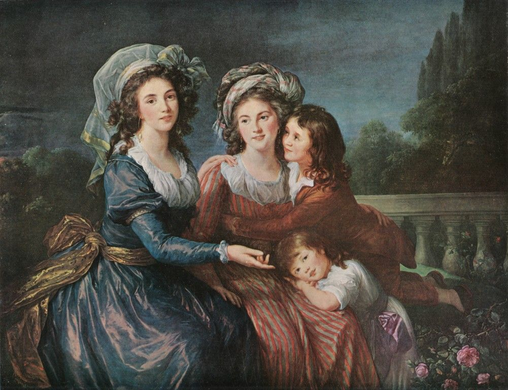 Artist   Élisabeth Vigée-Lebrun (1755–1842) Link back to Creator infobox template  Title   English: The Marquise de Pezay (or Pezé), and the Marquise de Rougé with Her Sons Alexis and Adrien  Date 1787
