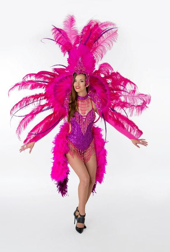 4bb608de3 Costume Hire, Costume Ideas, Flamingo Costume, Showgirl Costume, Vegas  Shows, Dancing