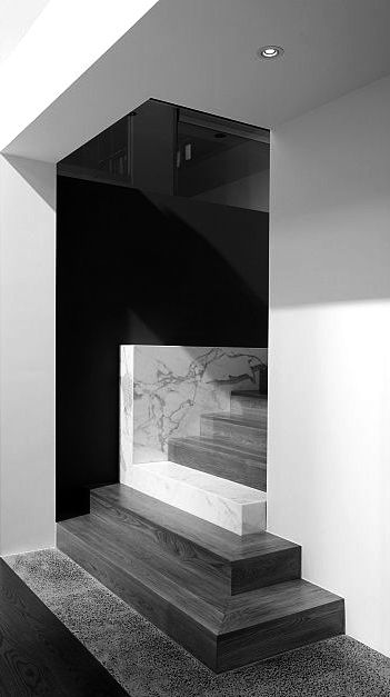 Wolf architects stair rooms void escaliers - La residence lassus par schlesinger associates ...