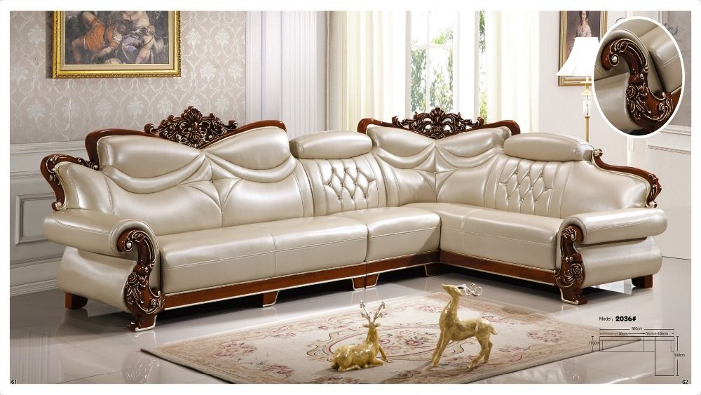 American Leather L Shape Corner Sofa Set ~ Aliexpress.com