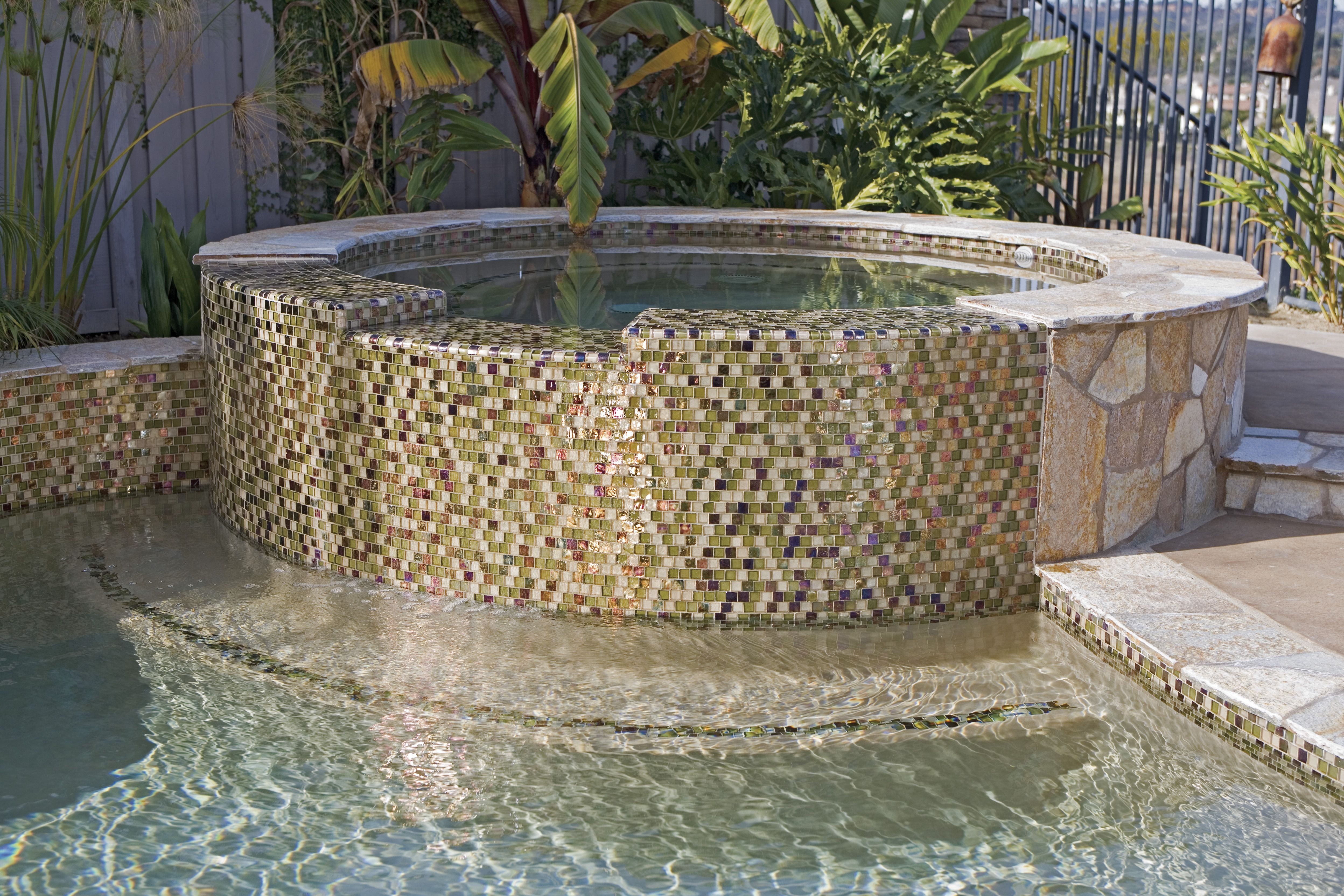 Swimming Pool Glass Tile Design pool tile tile supply inc Find This Pin And More On Pools Gorgeous Glass Tile
