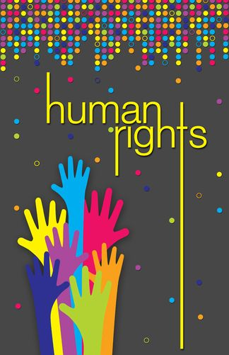 Human Rights By J Ashley Panter Via Behance Rainbow Diversity Hands Neon Humanrights Graphicdesign Human Rights Human True Colors