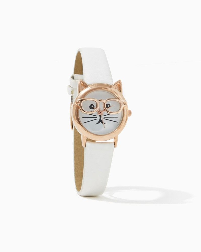 Nerdy Cat Watch | It's meow thirty| charming charlie