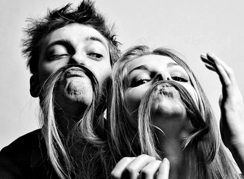 Cute Couple Mustache We Will Be Way More Goofy Than This
