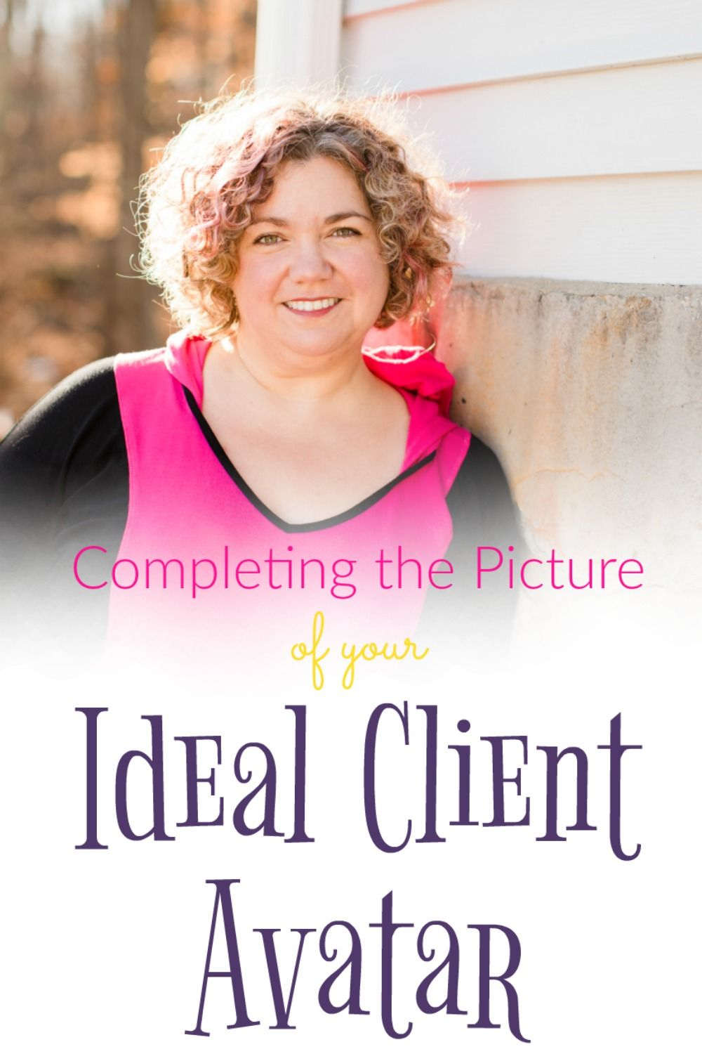 Do you know who your ideal client is if not i am excited