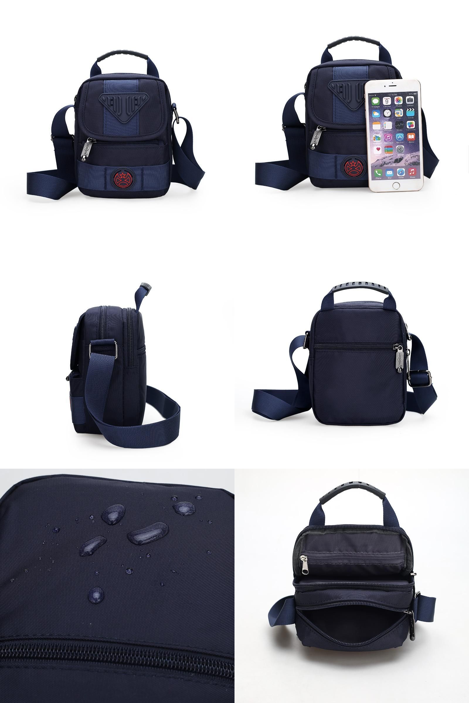 d0a51048251  Visit to Buy  New Men Waterproof nylon small Bag Casusl Messenger Bag  Brand Handbags