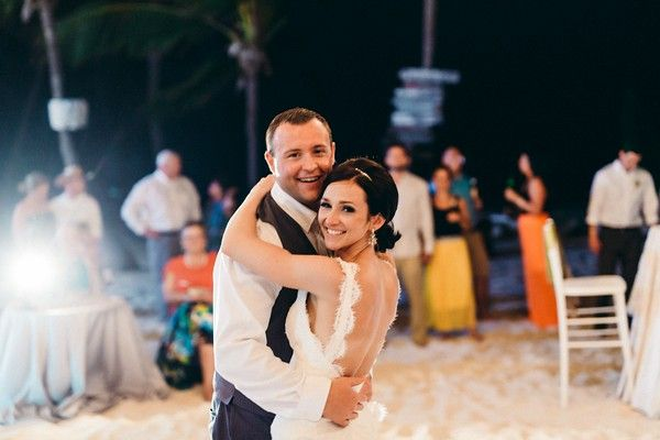 Punta Cana Destination Wedding. Audrey and Troy, Garden meets Beach  at Huracan Cafe!
