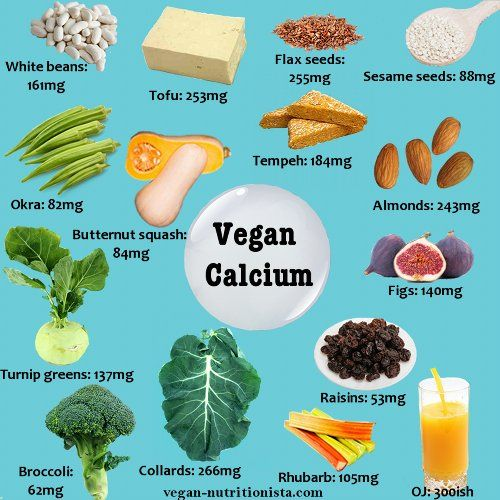 There's so much calcium in plant foods that you truly never need to consider drinking cow's milk.