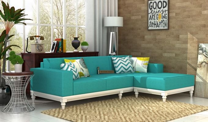 Best Buy Ayres Fabric Sofa Set Electric Turquoise Online In 400 x 300