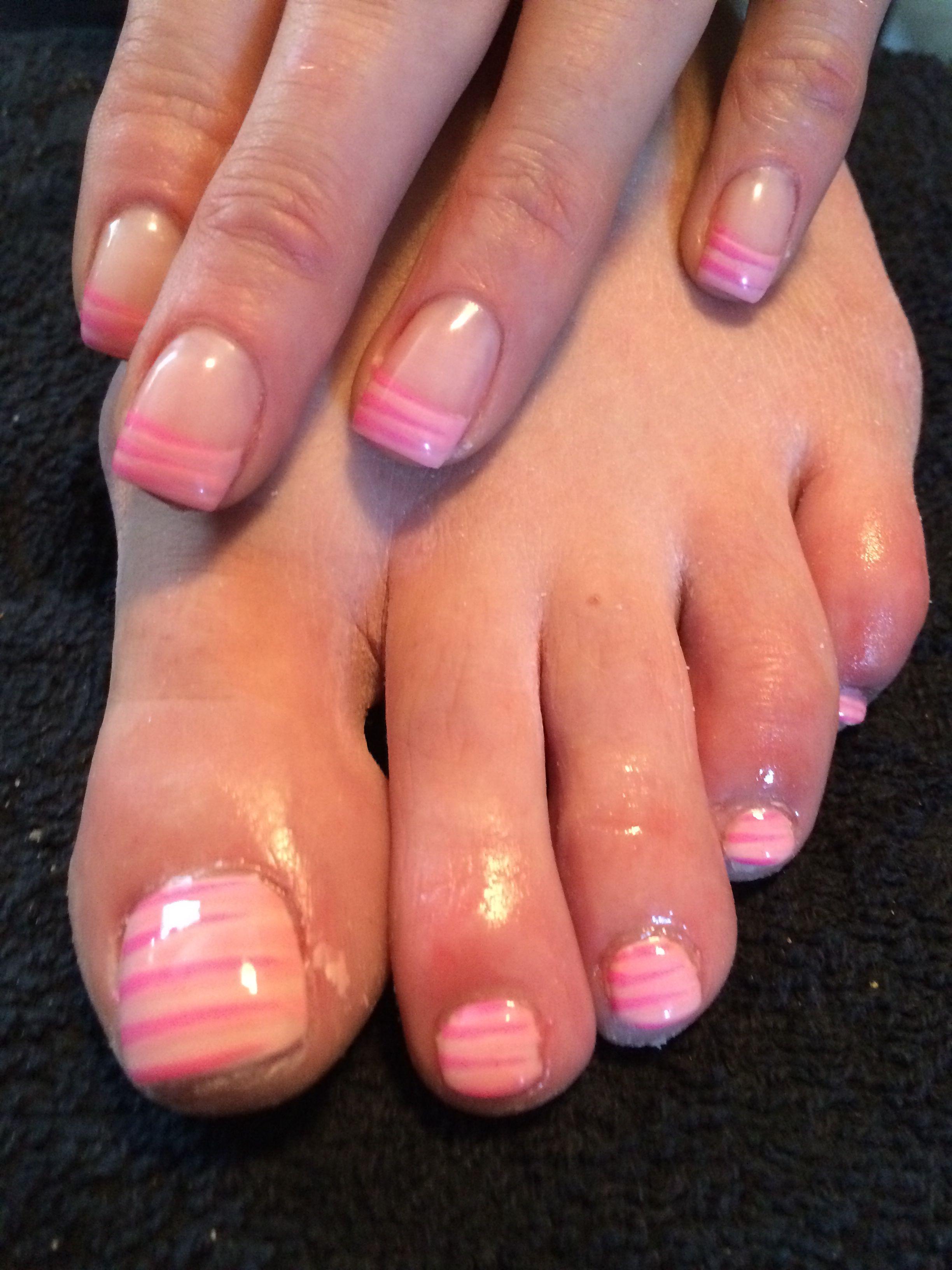 Matching pink nails and toes :) | Nails | Pinterest | Pink nails ...