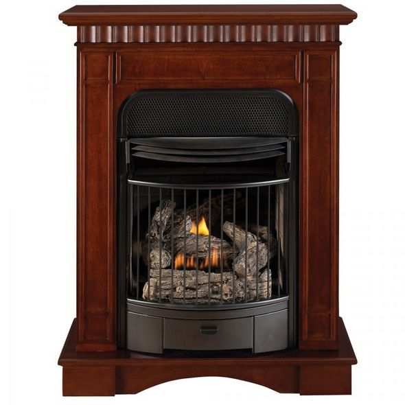 How To Build A Vent Free Gas Fireplace Home Improvement Gas
