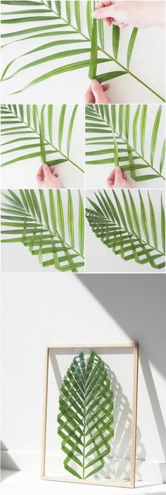 Diy Leaf Art Craft Art Diy Feuille