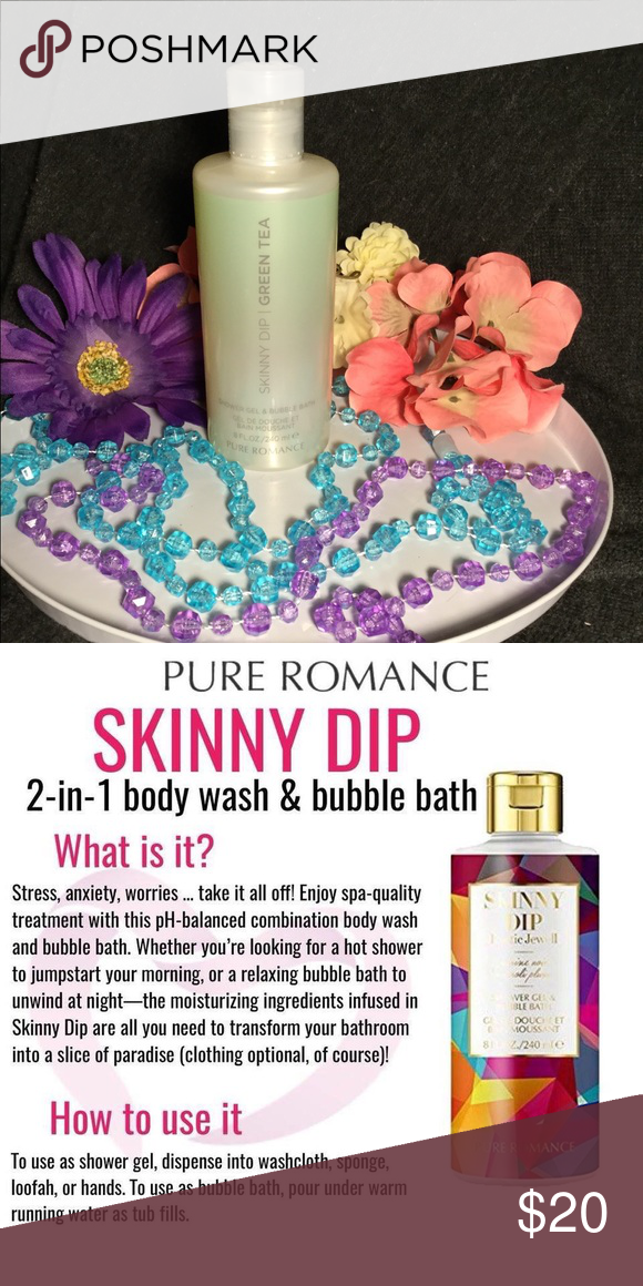 Skinny Dip By Pure Romance Green Tea Boutique Pure Products