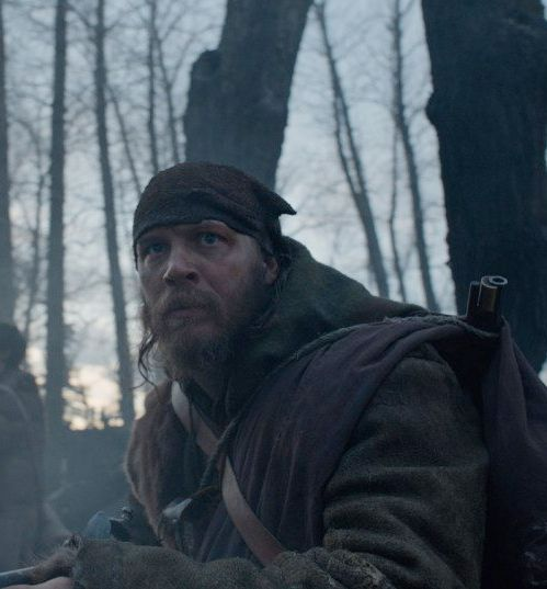 Tom Hardy as John Fitzgerald in The Revenant (2015)