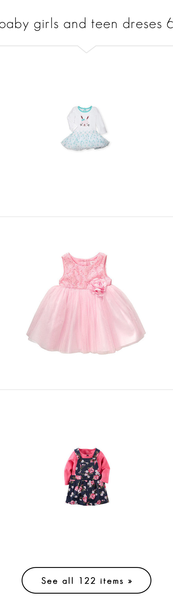 Baby girls and teen dreses