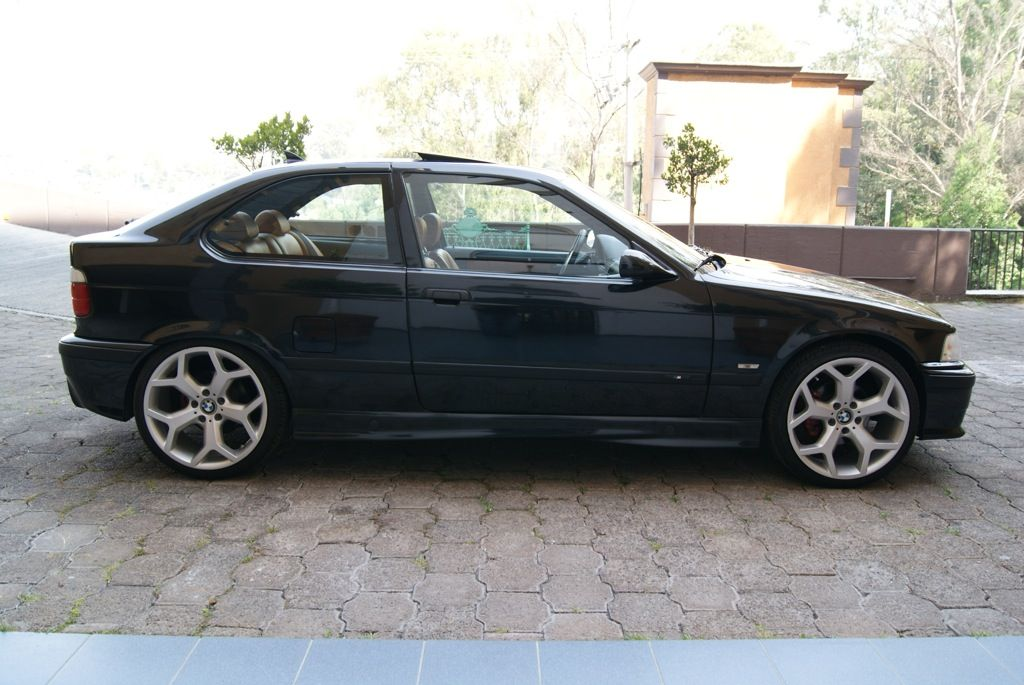 Compact E36 Con Llantas De X5 Euro Auto Style Bmw 318 Bmw E36